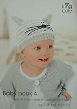 KNITTING PATTERN BOOK Baby Book 4 King Cole KNITTING PATTERN BOOK