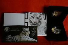 New listing 2012 Fiji White Tiger $10 Silver Coin w/ Coa