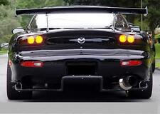 Mazda RX7 FD3S Black Rear Diffuser with side brackets Body Kit