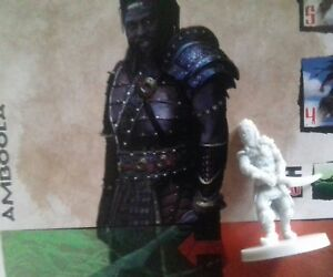 Amboola monolith games conan boardgame axe warrior figure and card