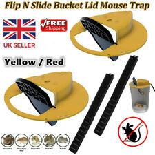 More details for slide bucket lid mouse trap w/ ladder flip n slide bucket lid trap upgraded