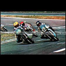 #CP7 TAPIO VIRTANEN, PATRICK PONS Course Moto Carte Postale Motorcycle Postcard