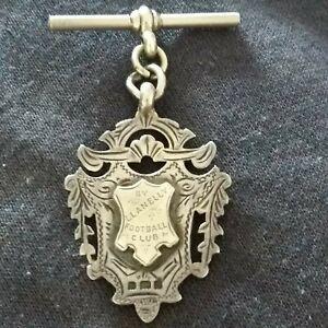 VERY RARE LLANELLI RUGBY CLUB SILVER GOLD MEDAL 1902 EVAN LLOYD