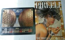 Vintage 1984 & 1985 Pirelli Calendars With Original Boxes