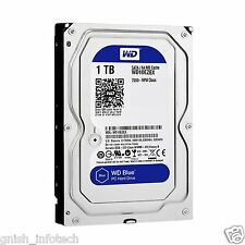 "WD Blue 1TB 7200 RPM 3.5"" Desktop Internal Hard Drive -WD10EZEX"