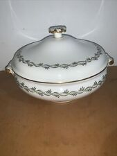 Vintage Wedgwood Bone China Soup Tureen Chiltern Pattern Made In England