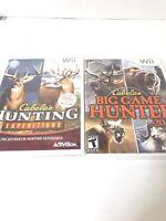 Nintendo Wii : Cabelas Big Game Hunter 2010 Complete And Big Game Hunter 2010