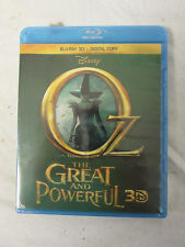 Lot (10) New Sealed Blu-Ray 3D & Digital Copy Disney OZ the Great and Powerful