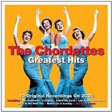 The Chordettes Greatest Hits 2-CD NEW SEALED Mr. Sandman/Lollipop/Eddie My Love+
