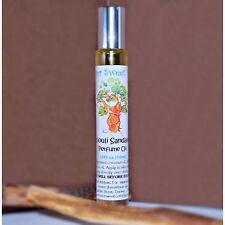 PATCHOULI SANDALWOOD Scented Handmade Perfume Oil Roll-On 10ml