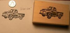 Vintage pick up truck rubber stamp P51