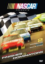 New NASCAR Greatest Finishes & Greatest Dominators DVD 2 Programs & Bonus Races