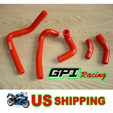 HONDA CR250 CR 250 02-08 2003 2004 2005 2006 2007 2008 Radiator Hose RED