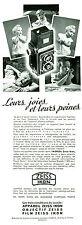 Publicité ancienne appareil photo Zeiss Ikon 1938 issue de magazine