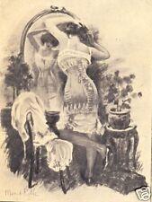 Lingerie - Catalogue de CORSETS, affiche par Manuel Robbe. Auch, Laborie