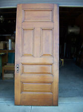 Solid Oak Int. door 5 Raised panels very nice door (D 8)