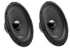 (2) SKAR AUDIO NPX8-4 350 WATT 8-INCH NEO 4-OHM MID-RANGE LOUDSPEAKERS - PAIR