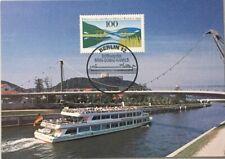 """BRD MK 1992 """"  Eröffnung Main- Donau-Kanal """"  MAXIMUMKARTE Nr. 48 / 92"""