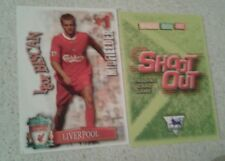 SHOOT OUT CARD 2003/04 (03/04) - Green Back -Liverpool - Igor Biscan