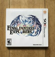 Final Fantasy Explorers (Nintendo 3Ds 2016) Tested Complete