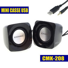 Casse Audio Speaker Altoparlanti CMK-208 per Pc Notebook Stereo Ipod Mp