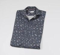 *** ETON *** Men's Blue long sleeved Shirt Size 40 - 15 3/4