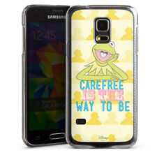 Samsung Galaxy S5 mini Handyhülle Case Hülle - Muppets Carefree is the way to be