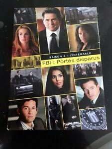 FBI portés disparus Saison 4 intégrale COFFRET 3 DVD episodes 1 a 24