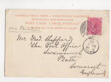 Fred Sheppard Post Office Swainswick Bath 1902 285b