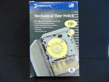 INTERMATIC MECHANICAL TIME SWITCH 120V SINGLE POLE SINGLE THROWT101 SPST 40 AMP