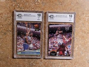 1992-93 STADIUM CLUB SHAQUILLE O'NEAL RC BCCG 10 / ULTRA BCCG 10