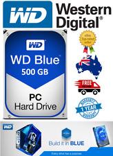 """Western Digital Blue 500Gb 3.5"""" SATA Internal Hard Drive Brand New 7200RPM"""