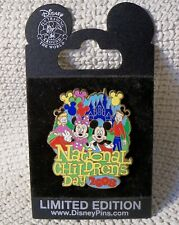 Disney Pin~2008 NATIONAL CHILDREN'S DAY~Micky & Minnie Mouse~LE 500