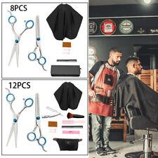 Professional Barber Hairdressing Scissors Thinning Hair Cutting Shears Salon Set