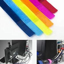 Ziemlich 20pcs Kabelbinder Nylon Strap Power Wire Management Marker Straps