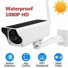 Wifi Wireless 1080P Solar Power IP Camera CCTV Security Night Vision Outdoor