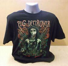PIG DESTROYER Hammerchrist official US black short sleeve t-shirt UNWORN Small