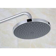 "8"" LARGE ROUND CHROME BATHROOM RAIN WATER OVERHEAD SHOWER HEAD 200mm"