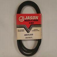 """NEW Jason V-Belt A80 4L 4L820 Industrial Grade 1/2"""" x 82"""" HVAC Lawn Mower Auto"""