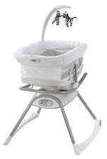 Graco Duet Glide LX Gliding Swing with Portable Sleeper Zagg NEW