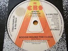 "TINA CHARLES - BOOGIE ROUND THE CLOCK  7"" VINYL PROMO"