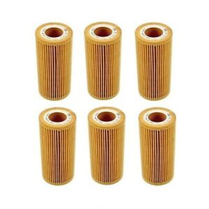 For Maybach 57 62 MB CL600 CL65 AMG S600 S65 AMG 6 Oil Filters MANN 2751800009