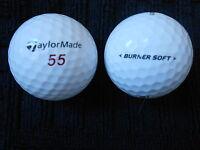 "20 TAYLORMADE - ""BURNER SOFT""  - Golf Balls - ""PEARL"" Grade."