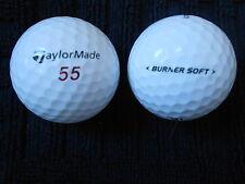 """20 TAYLOR MADE - """"BURNER SOFT""""  - 2016/17 MODEL - Golf Balls -""""PEARL/A""""  Grades."""