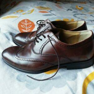 Steptronic bugatti  Mens Formal Dress Leather shoes size 43eur