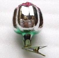 Antiker Russen Christbaumschmuck Glas Weihnachtsschmuck Vintage Ornament Flower
