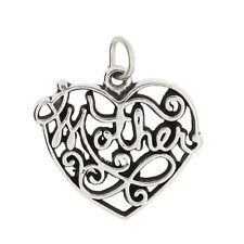 STERLING SILVER MOTHER CHARM OR PENDANT