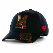 Maryland Terrapins NCAA Dog Tag Camo TERPS Hat Cap University UMD College Park