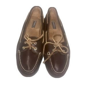 Sperry Top-Sider Boat Shoes Women's Size 8 M Brown