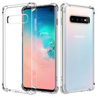 For Samsung Galaxy S10 S10e S9 S8 S20 Plus Case Clear Heavy Duty Shockproo Cover